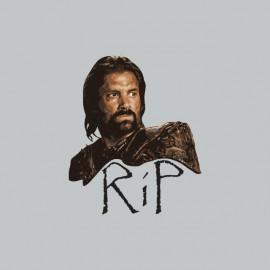 Tee shirt Spartacus RIP Crixus gris