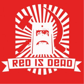 T-shirt Red is Dead - Rouge