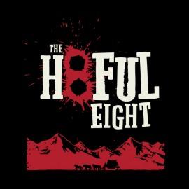 tee shirt the hatefull eight noir