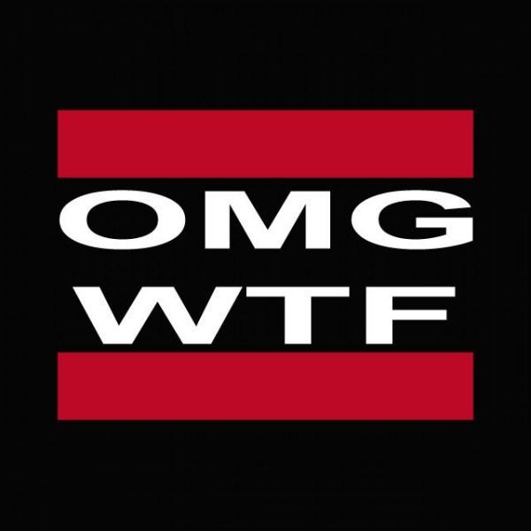 Omg Wtf T-shirt OMG WTF...