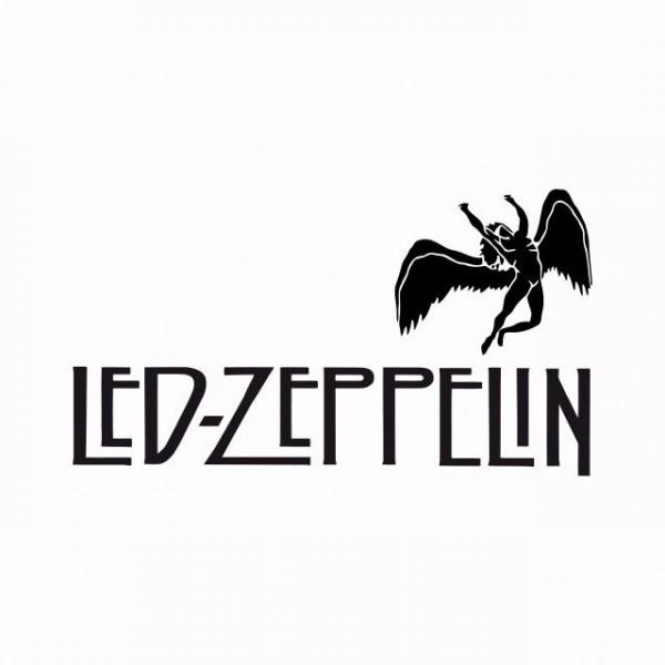 T Shirt Led Zeppelin White