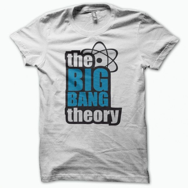 t shirt the big bang theory white. Black Bedroom Furniture Sets. Home Design Ideas