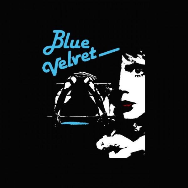 Tee shirt blue velvet noir for Film noir t shirts