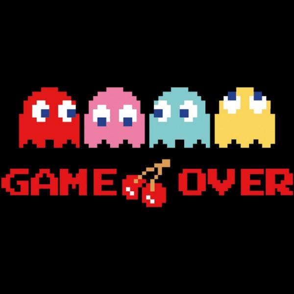 Game Over Logo ... Hack Logo