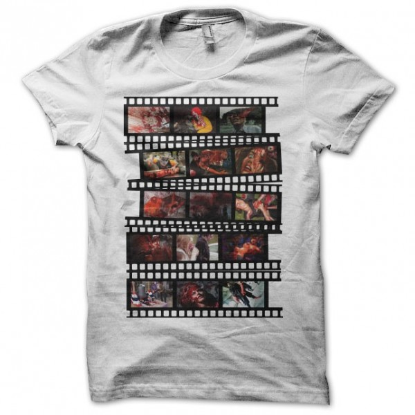 Cash tee shirt film strip