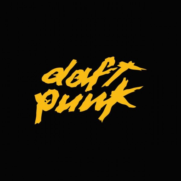 daft punk tshirt original orange black