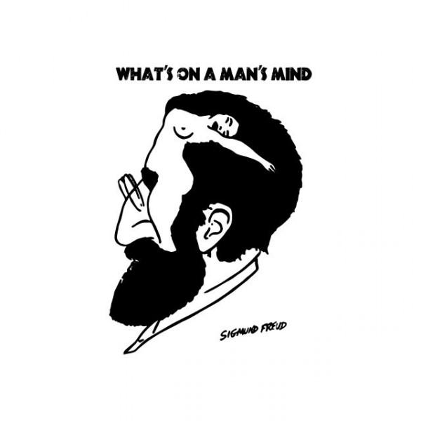 T Shirt Sigmund Freud Man S Mind White