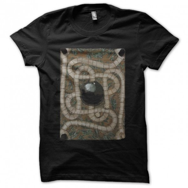 t shirt jumanji game board black. Black Bedroom Furniture Sets. Home Design Ideas