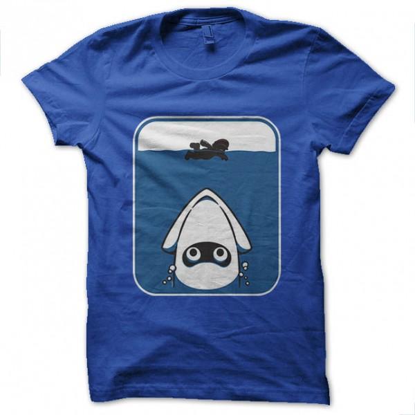 Tee shirt mario requin rigolo bleu royal - Requin rigolo ...