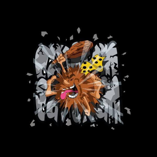 Tee shirt capitaine caverne pierre feu noir - Pierre feu pokemon noir ...