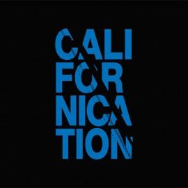 Tee shirt Californication bleu/noir