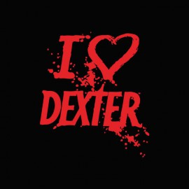 Shirt love DEXTER red / black