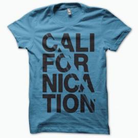 T-shirt Californication black/blue