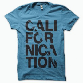 Camiseta Californication negro/azul