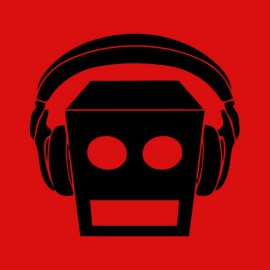 Tee shirt LMFAO robot Party Rock Anthem every day i m shufflin rouge/noir