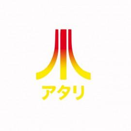camiseta Atari Japòn degradado blanco