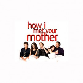 T-shirt How i met your mother bed white