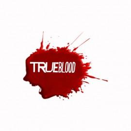 Camiseta True Blood mancha de sangre blanco