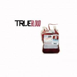 Camiseta True Blood de bolsas de sangre blanco