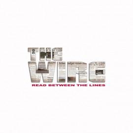 Camiseta The Wire logo newspaper blanco
