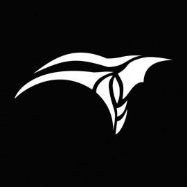 Camiseta Stargate Anubis symbol blanco/negro