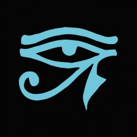Camiseta Stargate Ra symbol azul/negro