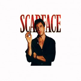 T-shirt Scarface affiche black/white