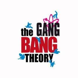 The gang bang theory parody
