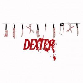 Camiseta Dexter ustensilios blanco