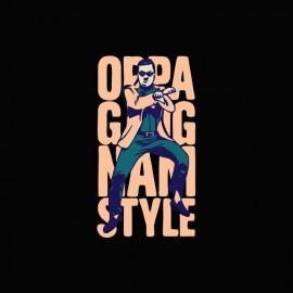 camiseta Gangnam Style OPPA 강남 스타일 negro