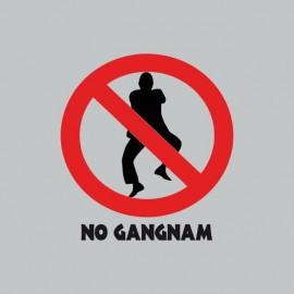 camiseta no Gangnam Style  강남 스타일 gris
