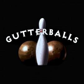 Camiseta Big Lebowsky Gutterballs negro