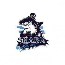 Tee shirt Poker Shark forever blanc
