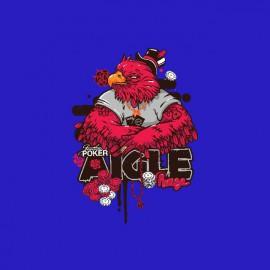 Tee shirt Poker Aigle Rouge bleu