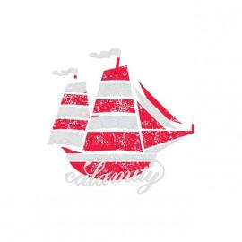 Tee shirt Calamity bateau blanc