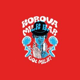 Tee shirt Clockwork Orange Mecanique milk bar rouge