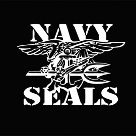 t-shirt Navy Seals white/black t-shirt Navy Seals white/black