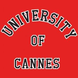Camisa Univerté bastones de la ciudad del miedo maniquíes roja Jeremy Simon