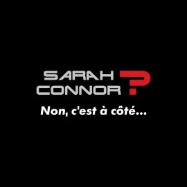 T-shirt Sarah Connor La cité de la peur black