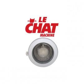 T-shirt Les Nuls Le chat machine white