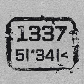 1337 5 | * 34 | <- Leet speak