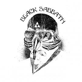 T Shirt Black Sabbath Tony stark white shirt