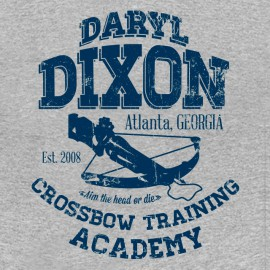 Daryl Crossbow academy - gris