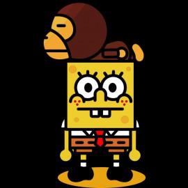 Camisa amarilla Spongebob 8 bits