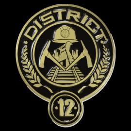 Tee Shirts Percha Juegos distrito 12 Sauger
