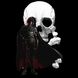 Albator.tete of mort.noir