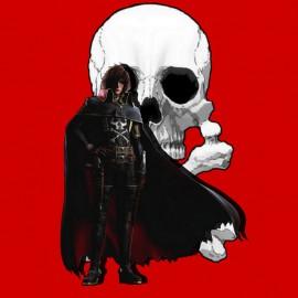 Albator.tete of mort.Rouge