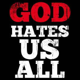 God Hates Us All - Californication - negro