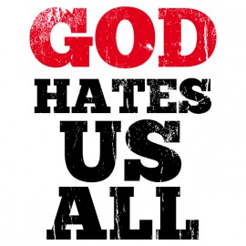 God Hates Us All - Californication - Blanco