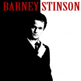 Tee Shirt Barney Stinson black Scarface parody